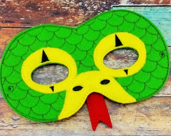 Snake Mask - Dress Up - Pretend Play - Halloween