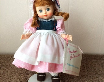 Madame Alexander, Jill doll, vintage 1988