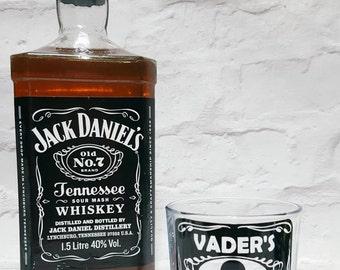 Star wars whiskey glass / Darth Vader Whiskey Glass