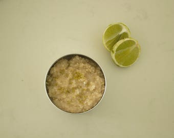 Coconut Lime Organic Body Scrub