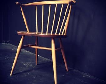 Ercol cow-horn chair