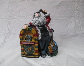 A Jude box Santa