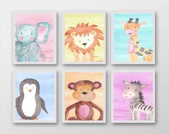 Set 6 Safari/Animal Prints - Mix and Match