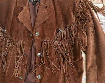 Men's Byrnes & Baker Fringe Jacket