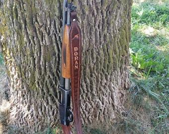 Customized Leather Rifle Sling
