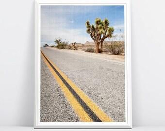 Desert Photography Print, Desert Landscape Wall Art, Printable Poster, Digital Download, Modern Contemporary, Large Printable Poster,Modern