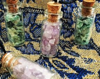 Genuine crystal pendant