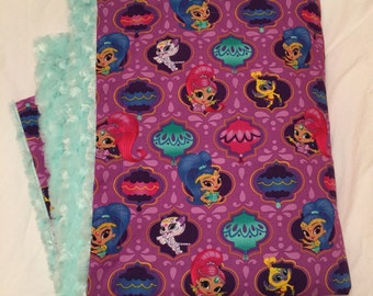 Shimmer and Shine Blanket