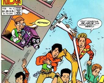 New Kids On The Block NKOTB #3 February 1991 Issue Harvey Comics Comic Book
