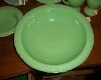 Large Jadite McKee Bowl