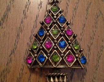 Hedy Christmas Tree Brooch