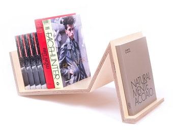 Wood Bookshelves, Maple Bookends, Wooden Book Rack, Shelving, Book Holder,  Stand