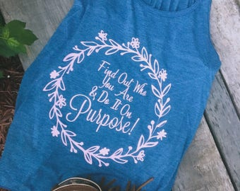 Find Out Who You Are And Do It On Purpose / Dolly Parton Quote / Find Your Purpose / Quote Tank /