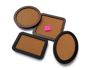 framed pin board pin board square cork board rectangle cork board round - Framed Cork Board