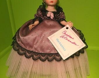 1980s Portrettes Rosette Vintage Madame Alexander Doll 1115
