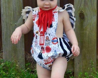 London girl romper