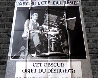 Luis Bunuel poster original movie this obscure object of desire