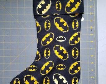 Batman Stocking (glows in the dark!)
