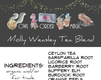Molly Weasely Tea Blend - Organic Fair Trade