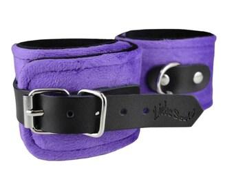 Bondage Cuffs, Ankle cuffs, BDSM, restraints,  bdsm wrist cuffs (mature)