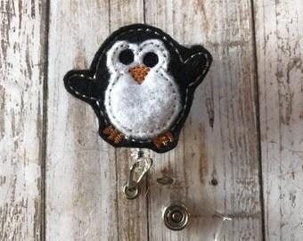 Dancing Penguin Badge Reel | Penguin Badge Reel | Animal Badge Reel | Badge Reel | Penguin