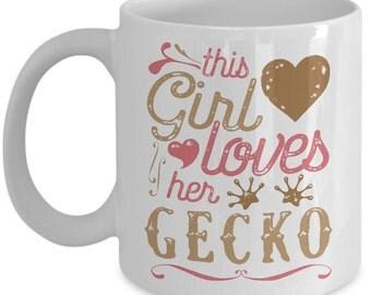 This Girl Loves Her Gecko Reptile Mug
