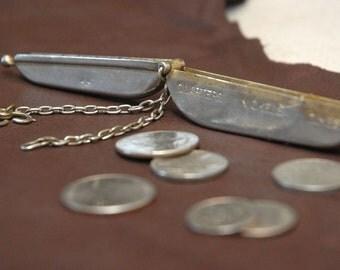 Vintage coin holder, money holder,pocket change