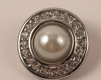 20mm Snap, Color - Pearl