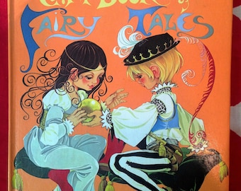 Janet & Anne Grahame Johnstone's Gift Book of Fairy Tales, Dean Vintage 1973
