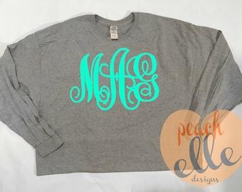 Long Sleeve Monogram Shirt