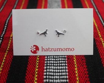 Dinosaur Stud Earring Set Sterling Silver 925