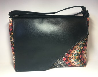 Indie Messenger Bag, Cross Body Bag, Boho Bag, Purse, Computer Bag