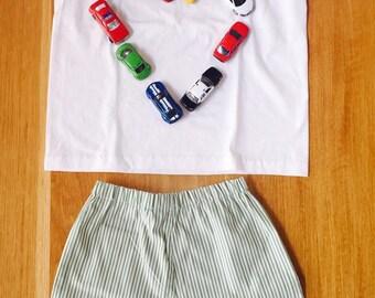 Summer short pijama girl size 6