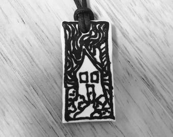 Little House pendant
