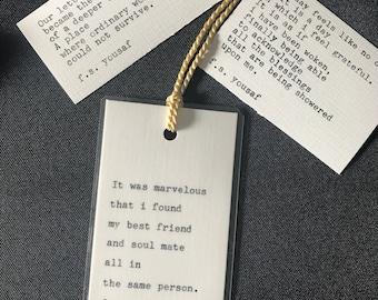 2 Poems + Bookmark
