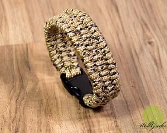 Cord bracelet Desert Camo