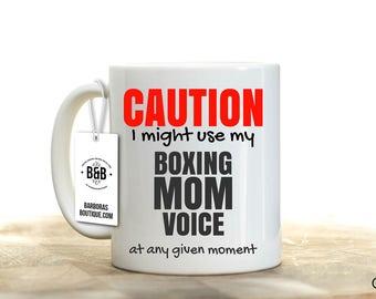 Boxing Gifts, Boxing, Boxing Mom Mug, Boxing Mug, Mom gift, Mothers Day Gift, Mothers Day Travel Mug, Travel Coffee Mug, Tumbler, Boxing Mom