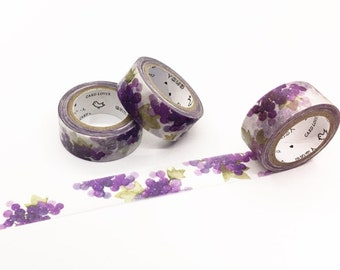 Purple Grape Washi Tape - Season's Color Series