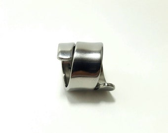 Handcrafted Genuine Vintage Upcycled stainless steel Spoon Ring 'plain'.