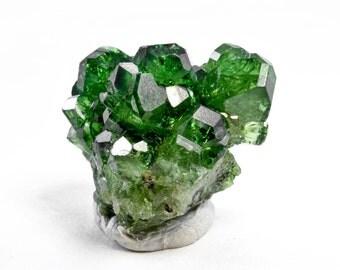 Bright Green Chrome UVITE TOURMALINE CLUSTER from Landanai, Tanzania 28