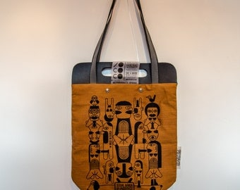 Tote Bag Sexual Africa Brown