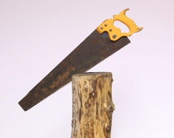 Slack, Sellars & co., Inc. Sheffield-Antique saw, hand saw, wood saw