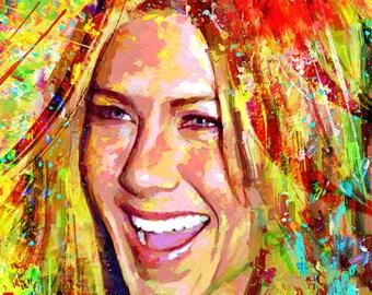 Portrait Jennifer Aniston dream