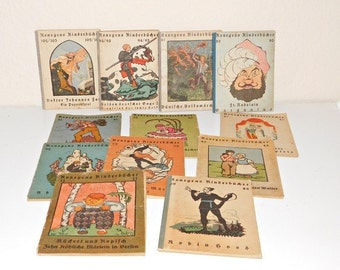 RaRe Konegens children's books 12 x 20/30 he J.