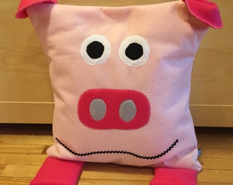 MRS COCHON - decorative felt cushion cover