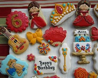 Princess Elena of Avalor inspired Cookie Platter