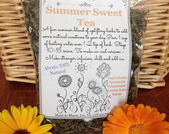 All Natural Summer Sweet Tea Herbal, Chemical Free