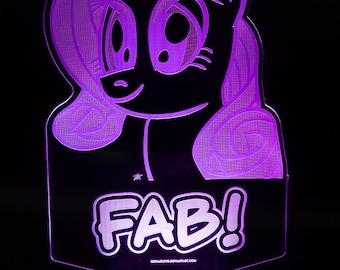 Rarity Fab My Little Pony LED Light Display