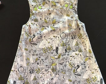 Woodland Dress - Grey