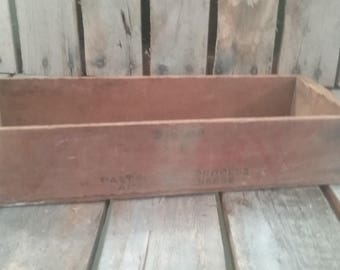 Coopers Cheese Crate/Vintage Shipping Crate/Old Shipping Crate/Small Crate/Small Box/Vintage Crates/Small Old Crates/Cheese Box/Shipping Box